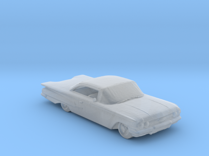 Jeepers creeper 60 chevy 220 scale 3d printed