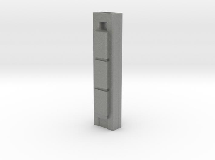 Torre Cepsa - Madrid (1:4000) 3d printed