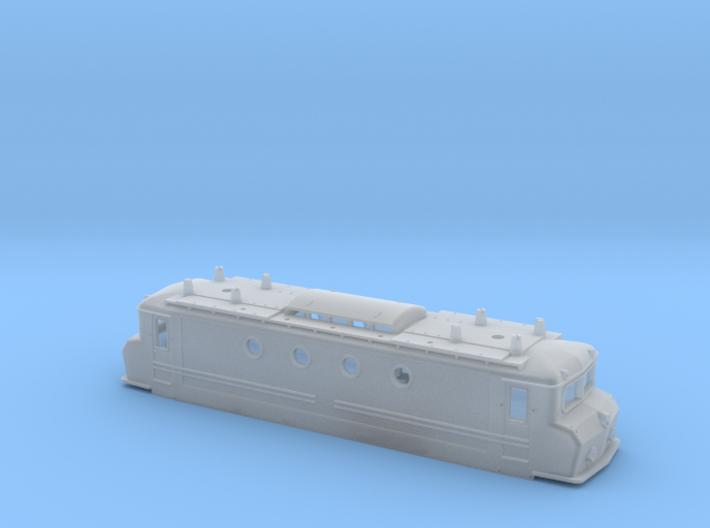 NS 1100 Botsneus Blauw schroefloze montage 3d printed