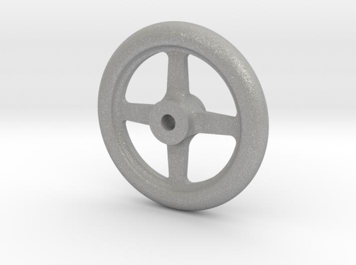 "NGG16 smokebox door handwheel 2.5""/foot 3d printed"