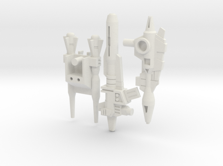 Titans Return Monsterbots' G1 Blasters 3d printed