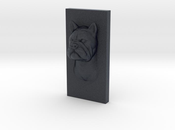 BulldogCat Caricature (001) 3d printed