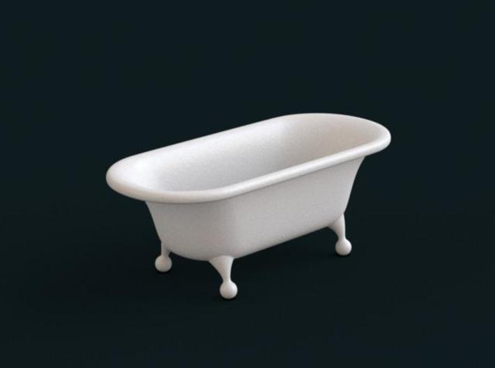 1:39 Scale Model - Bath Tub 01 3d printed