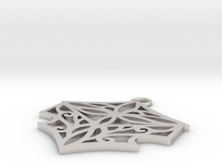 Adalina pendant 3d printed