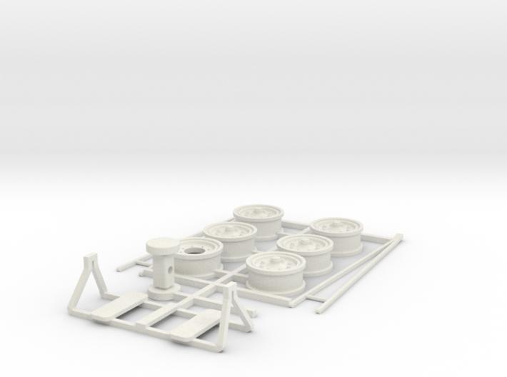 DAF TA oplegger parts 3d printed