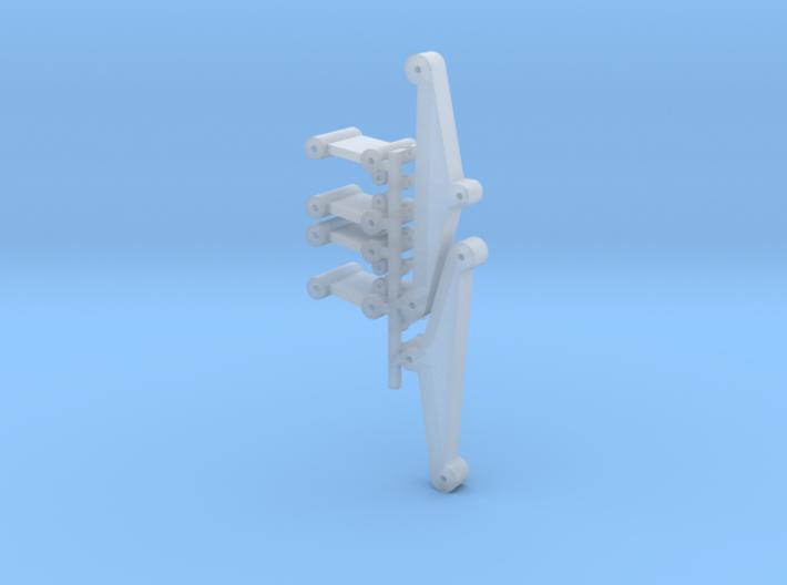 DAF Oplegger TA Type 1 asophanging onderdelen 3d printed