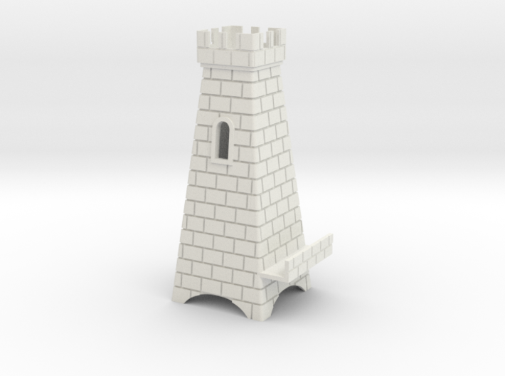 phone stand Tower 3d printed
