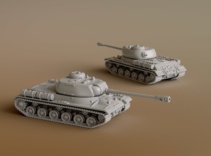 IS-2 Heavy Tank Scale: 1:160 3d printed