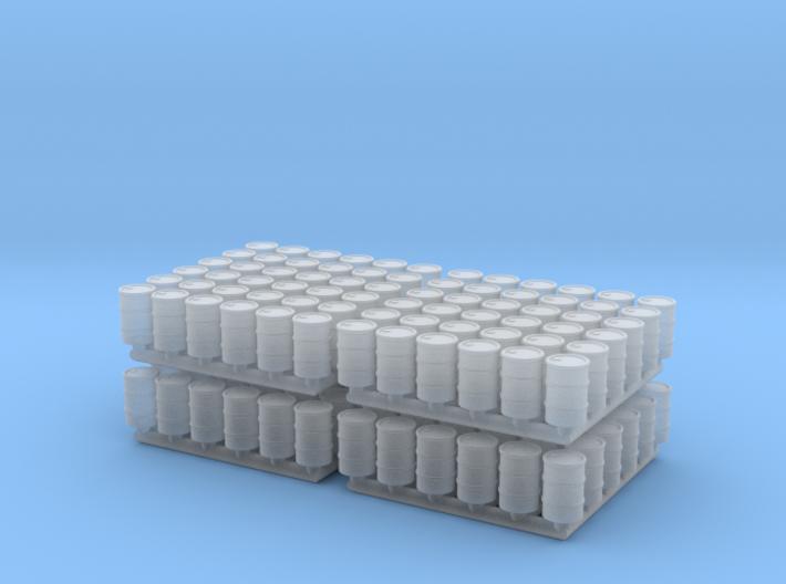 Barrel 01. N Scale (1:160). x144 3d printed