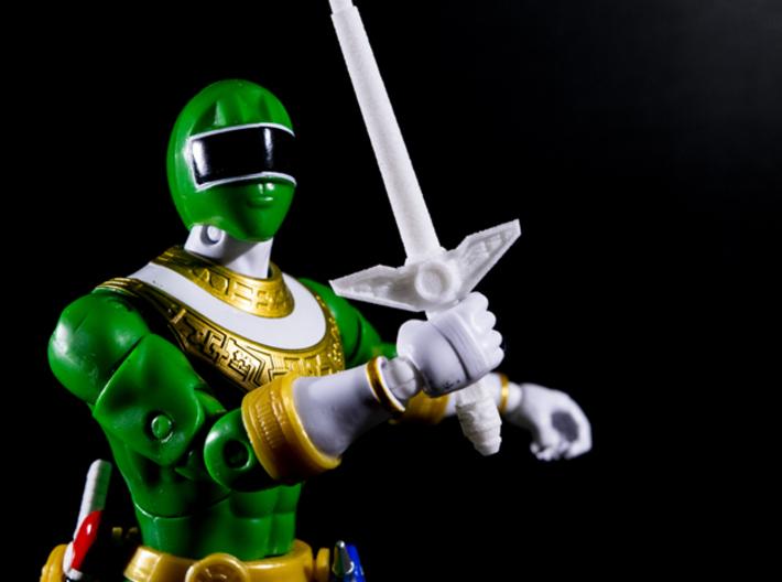 Zeo Power Pod Sword - Power Rangers 3d printed