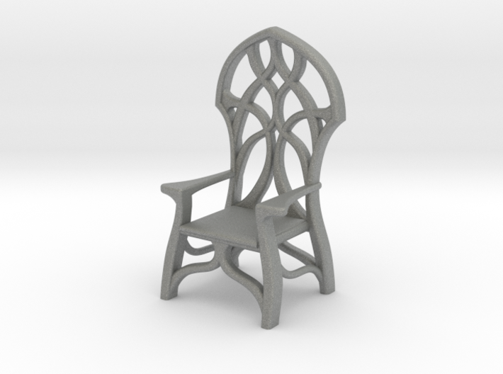 Elven Chair for 1:24 scale settings 3d printed