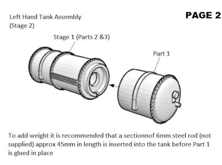 GWR Cordon Part 7 Chassis 3d printed Instructions Page 2