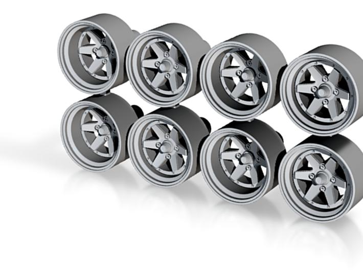 Longchamp XR4 10x5mm 1/43 Scale Wheels 3d printed