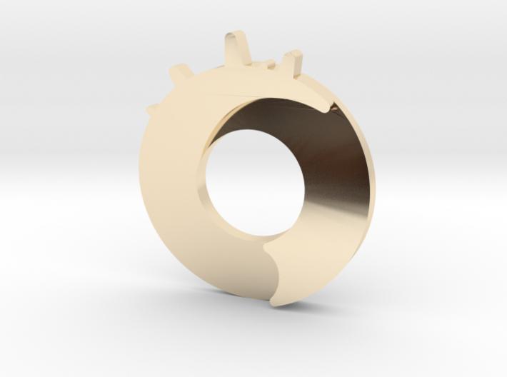 Exploding Dot Pendant 3d printed