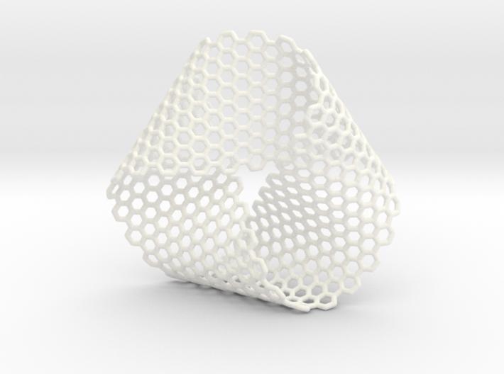 Folded Mobius Triplex Hex 3d printed