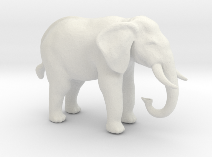 S Scale African Elephant 3d printed This is a render not a picture