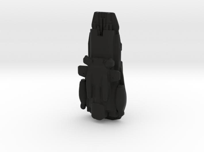 Frigate Maellor black request 3d printed