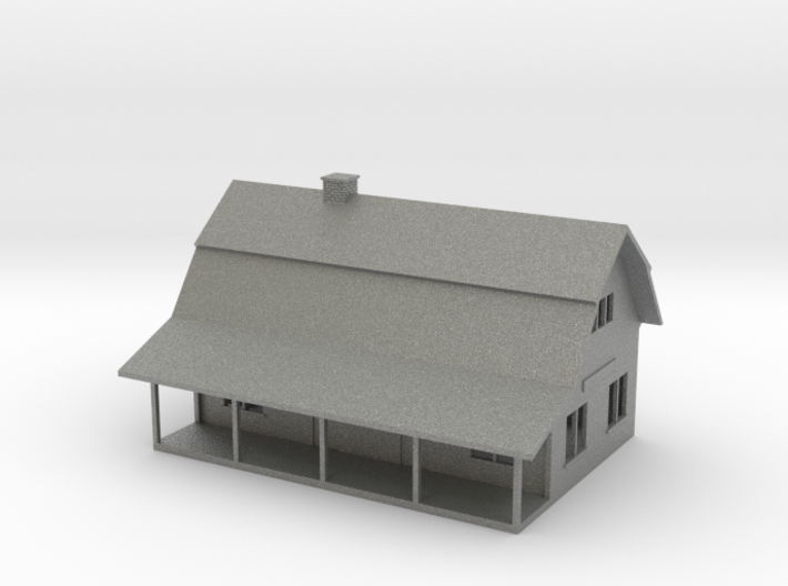 N scale Fairview Avenue Depot 3d printed