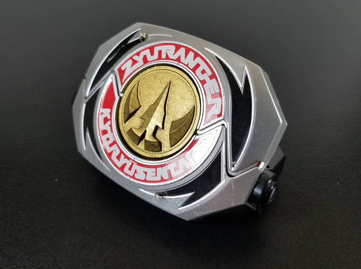 '93 Power Morpher Lord Drakkon Coin 3d printed Printed in resin