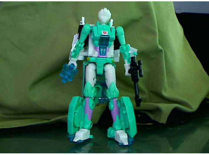 G1 Arcee / Paradron Medic head for POTP Moonracer 3d printed