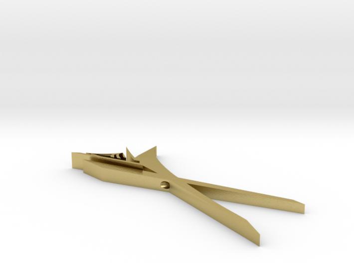 maze.scissors breast jewelry 3d printed