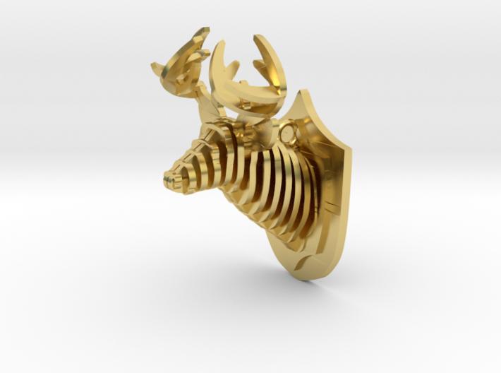 Deer head 3d printed