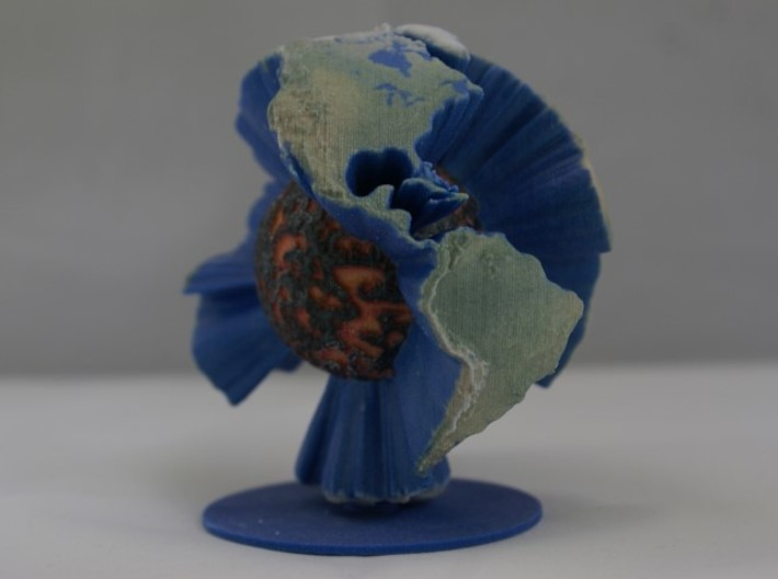 Magma Earth - 140mm 3d printed