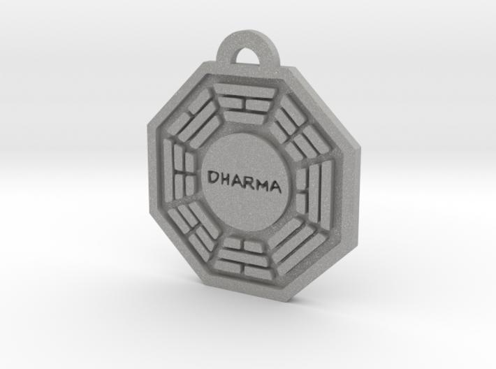 Lost, Dharma Initiative keychain decoration 3d printed