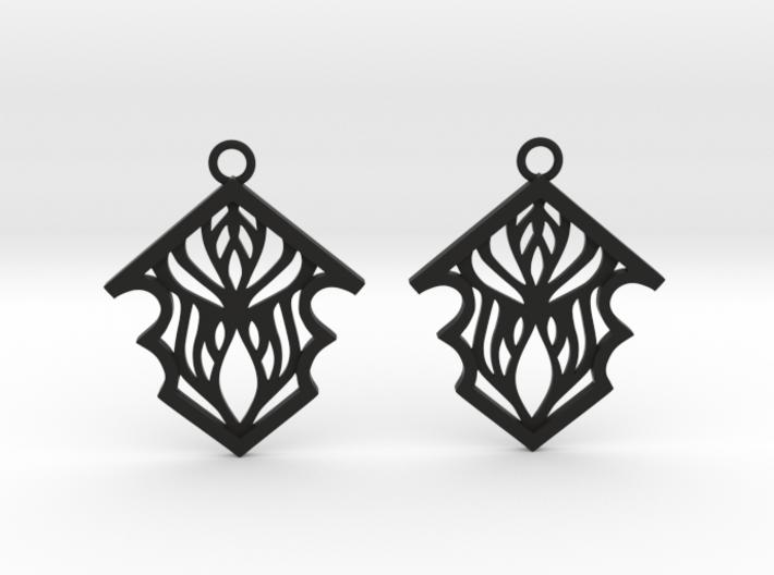 Earleen earrings 3d printed