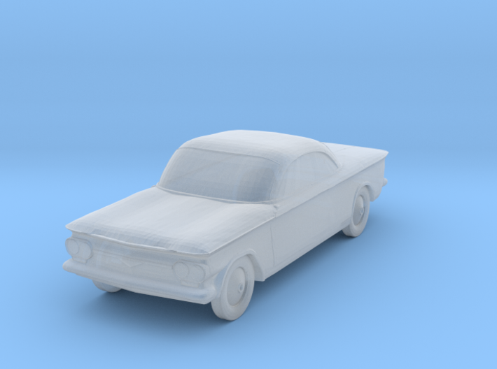 1963 Chevrolet Corvair - 1:285scale 3d printed