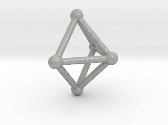 0720 J01 Square Pyramid V&E (a=1cm) #2 3d printed