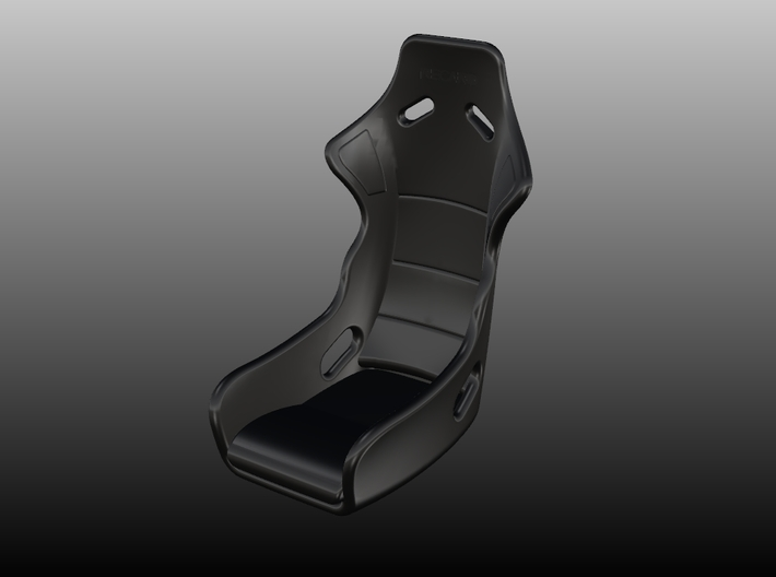 Race Seat ProSPA - 1/24 3d printed