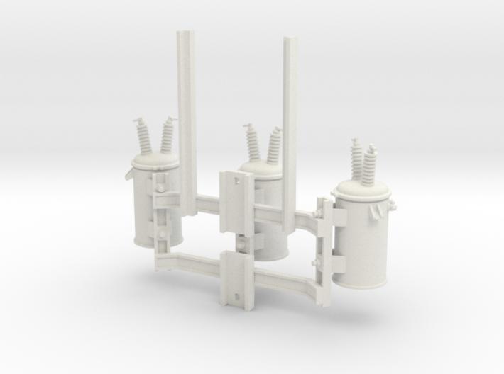 Cluster Bracket 01 3d printed