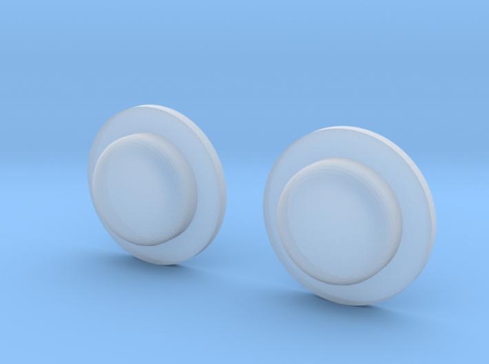 Sportello Billet Box Rev4 Button v2.0 Variante 1 3d printed