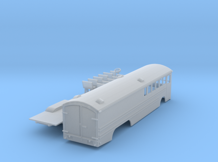 Great Northern Bus N scale 3d printed Great Northern Bus or Bruck N scale