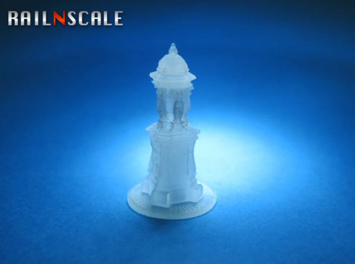 Fontaine Wallace (N 1:160) 3d printed
