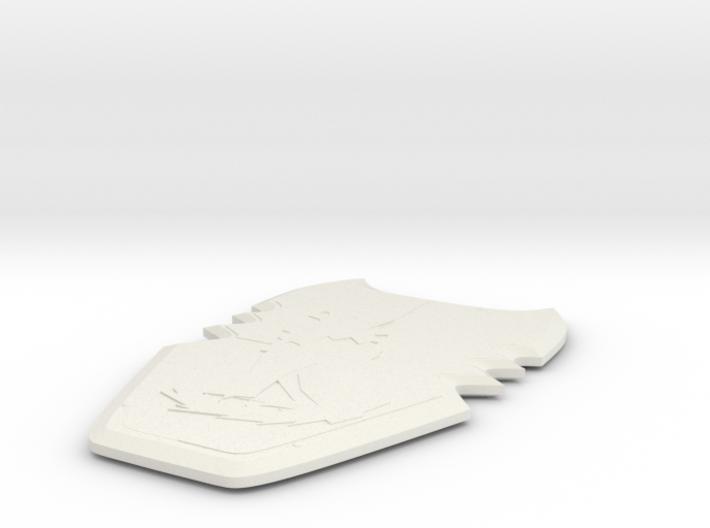 Knights Kingdom - Sir Danju's Wolf Shield 3d printed