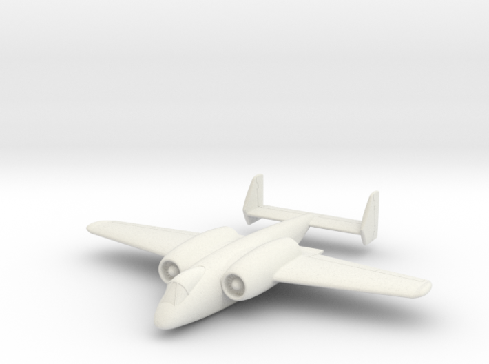 """(1:144) Junkers """"Unnamed"""" Ground Attack Aircraft 3d printed"""