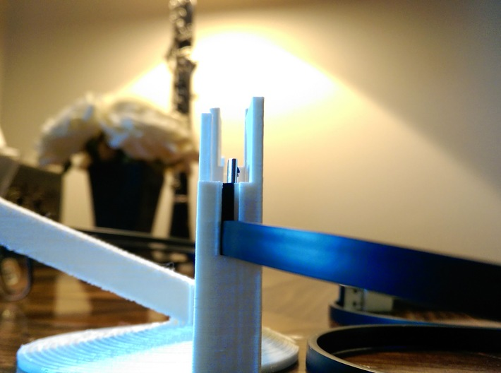 Google Glass Charging Stand - Original Cable 3d printed Add a caption...