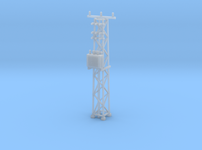 N Scale Distribution Transformer Pylon #2 3d printed