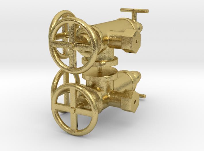 WD Hunslet Roscoe Lubricator Set 3d printed