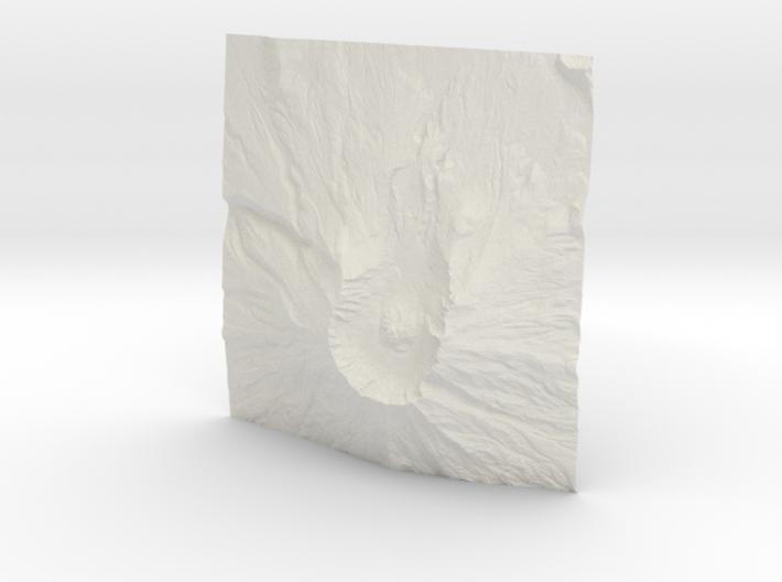 12'' Mt. St. Helens, Washington, USA 3d printed