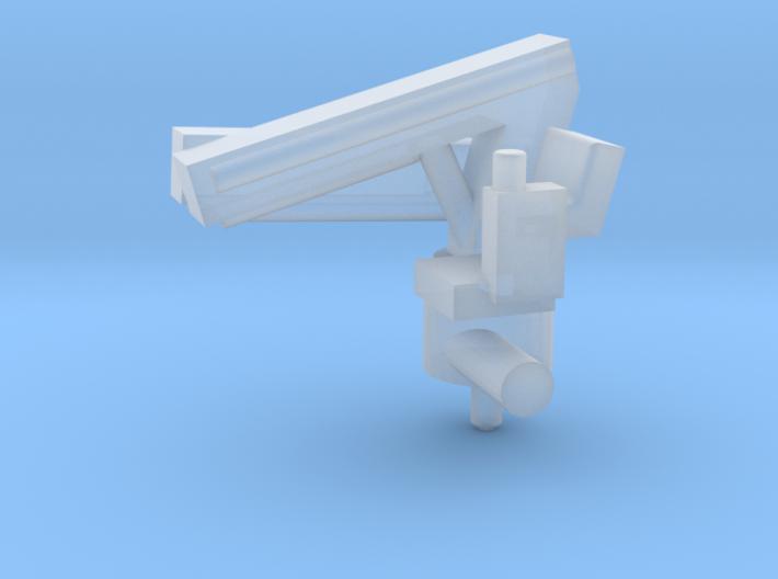 small modern ship crane (1:200) 3d printed
