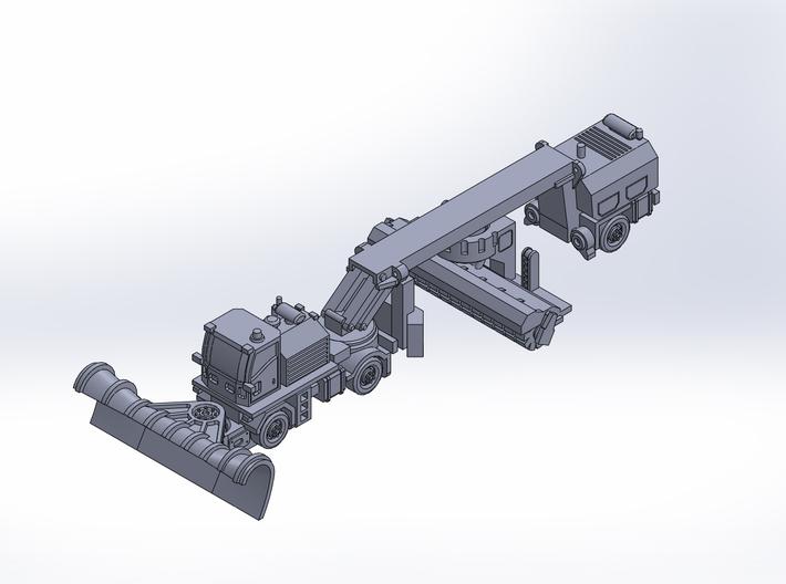 MB2 snow plow sweeper rev2 3d printed