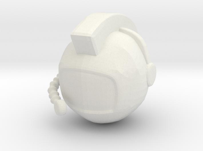 SpaceHelmetv3 3d printed