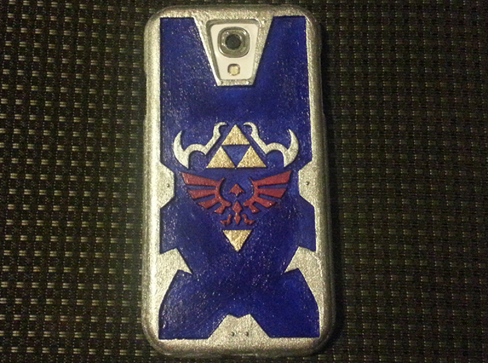 Zelda Case for Galaxy S4 (speaker to front) 3d printed