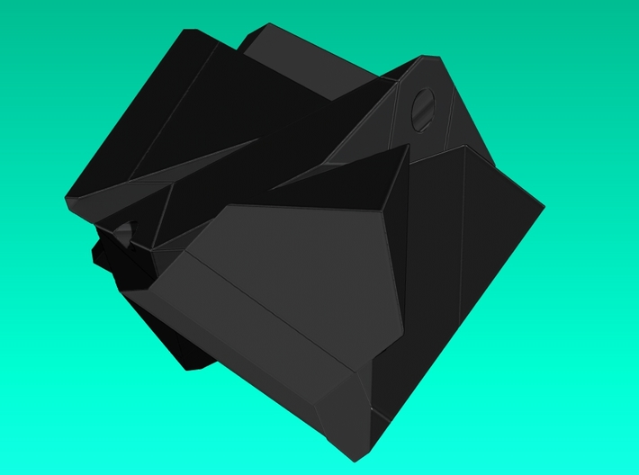 Inclined Cube Puzzle 3d printed