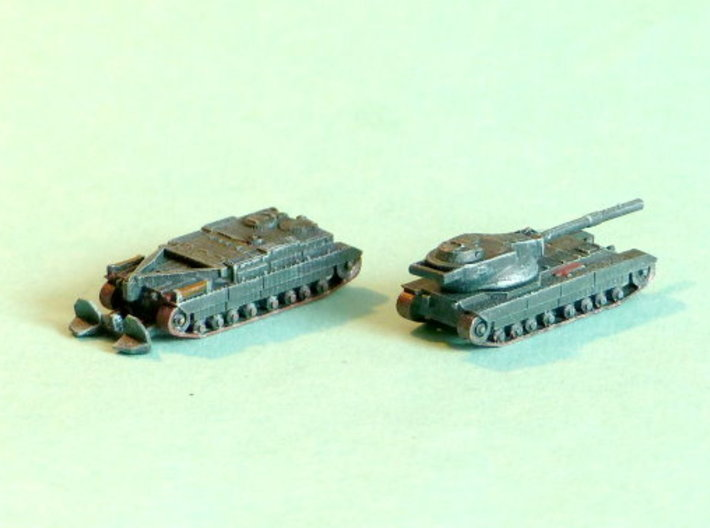 FV215b FV222 Conqueror Variants 1/285 6mm 3d printed Add a caption...