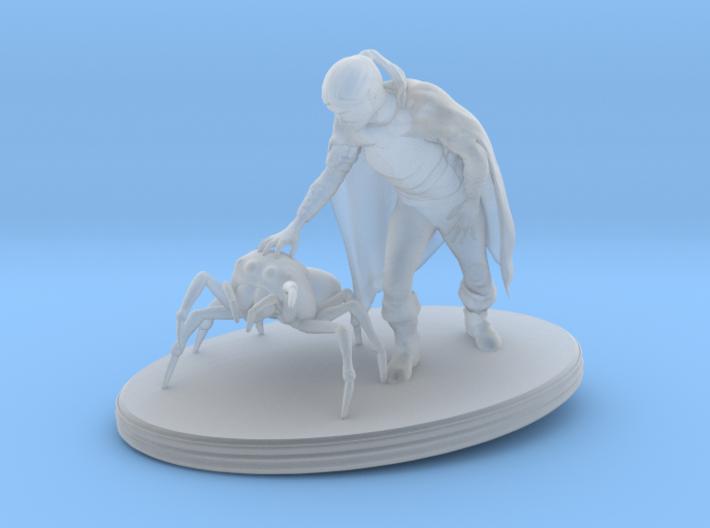 Elf Druid 3d printed