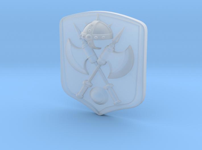 Stridor Shield  3d printed